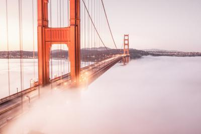 Deck Fog at Golden Gate Bridge, San Francisco by Vincent James