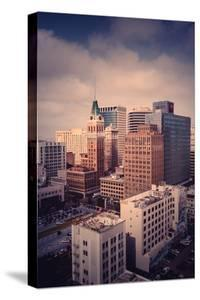 Downtown Oakland Moody Clouds East Bay California by Vincent James