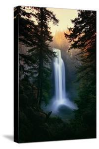 Dreamy Salt Creek Falls in Spring Central Oregon Cascades Wilderness Waterfall by Vincent James