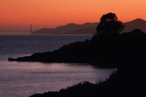 East Shore Sunset, San Francisco Bay by Vincent James