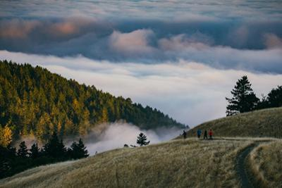 Enjoy Mount Tam, Bring A Friend, Above the Fog California by Vincent James