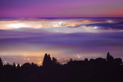 Enraptured in Fog, San Francisco Epic Cityscape Iconic Urban by Vincent James