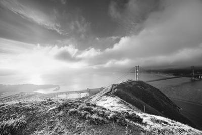 Etheral Morning Light at Slacker Hill, Golden Gate Bridge, San Francisco, California by Vincent James