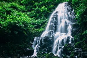 Ethereal Fairy Falls, Columbia River Gorge, Oregon by Vincent James