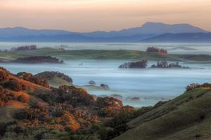 Ethereal Morning Across The Petaluma Hills, Northern California by Vincent James