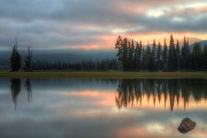 Ethereal Sparks Lake and Morning Light by Vincent James