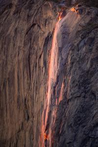 Fiery Horsetail Falls, Yosemite by Vincent James