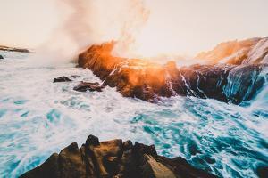 Fire and Sea, Sonoma Coast, California Coast, Pacific Ocean by Vincent James