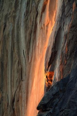 Firefall Detail, Yosemite by Vincent James