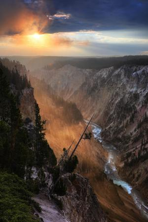First Light Grand Canyon Sunrise Light Wyoming Yellowstone by Vincent James