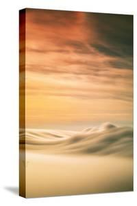 Fog Abstract Natural Beauty Summer Light Fog Over Pacific Ocean, California Coast by Vincent James