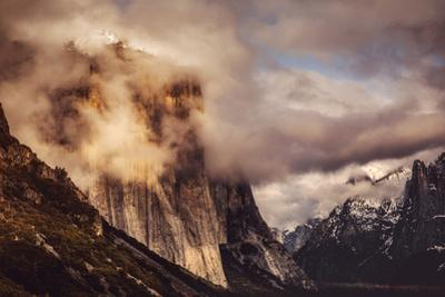 Fog & Cloud Chaos Clearing Storm Tunnel View Yosemite National Park by Vincent James