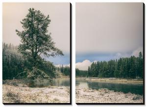 Frosty River Bend, Yellowstone by Vincent James