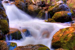 Gold and Blue Creek, Yosemite by Vincent James