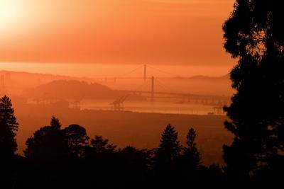 Golden Bridges, Unique View San Francisco Bay by Vincent James