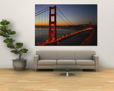 Golden Gate Bridge by Vincent James