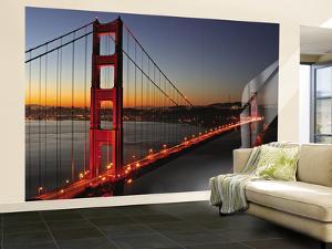Golden Gate Bridge by Vincent James