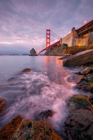 Golden Gate North Side, San Francisco Bay, Sausalito California by Vincent James