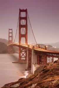 Golden Gate, Smokey Evening by Vincent James