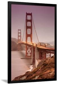 Golden Gate, Smokey Evening by Vincent James