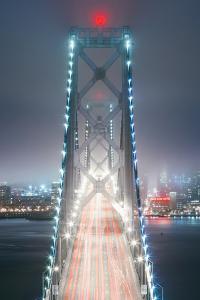 Head On Into The City, Bay Bridge, San Francisco by Vincent James