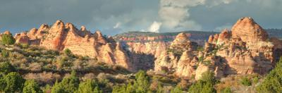 Hills of Kolob Canyon in Afternoon Light by Vincent James