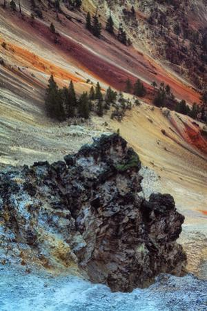 Hillside Design of the Grand Canyon of the Yellowstone River Wyoming Epic Wyoming by Vincent James