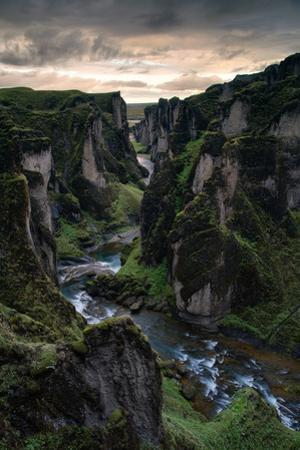 Iceland Ancient Canyon at Sunset Southern Ice Age Shores Thrones Immigrant Song by Vincent James