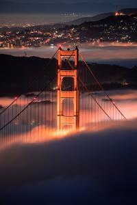 In The Pocket Golden Gate Fog San Francisco Bay Area by Vincent James