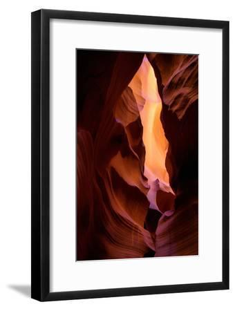 Internal Fire Abstract, Antelope Canyon, Arizona Navajo by Vincent James