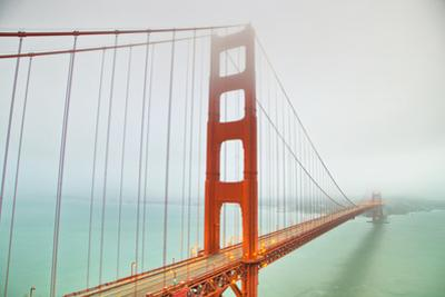 Into the Fog at Golden Gate Bridge, San Francisco by Vincent James