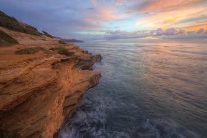 Jagged Cliffs at Shipwreck Beach, Kauai Hawaii by Vincent James