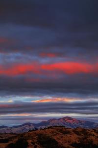 Last Light at Mount Diablo, East Bay Hills, San Francisco by Vincent James
