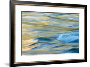Late Afternoon Light and Merced River Abstract by Vincent James