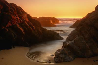 Late Light Sonoma Seascape by Vincent James