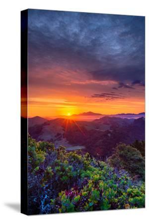 Late Spring Sunrise Magic, Mount Diablo, Lafayette, California, Oakland