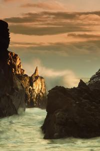 Light Splash at Big Sur by Vincent James