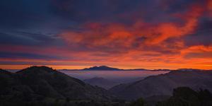 Magic Mood Fog and Clouds Mount Diablo Bay Area Clouds Sunrise by Vincent James