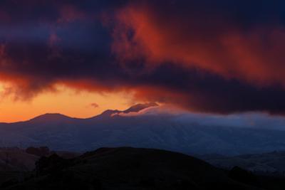 Magic Mouth of Diablo Morning Burn Fog Fire East Bay Hills by Vincent James