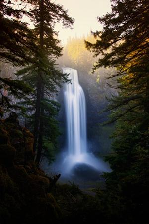 Magical and Dreamy Salt Creek Falls Wiliamette National Forest, Oregon Wilderness by Vincent James