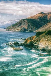 Magical Coast Highway, Big Sur California by Vincent James