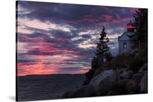 Magical Sunset at Bass Harbor Lighthouse, Maine by Vincent James