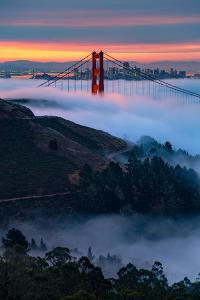 Magical Wonderland of Fog and Light, Golden Gate Bridge, San Francisco by Vincent James