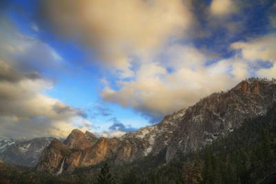 Majestic Hillside Around Tunnel View Yosemite National Park by Vincent James