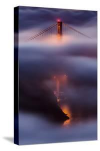 Memory Bliss Golden Gate Wrapped in Cooling Fog San Francisco by Vincent James