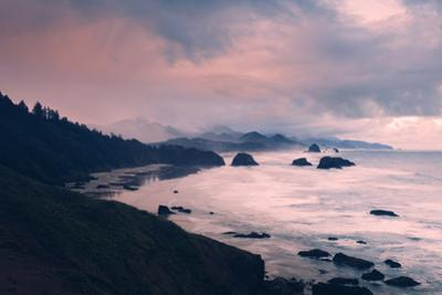 Milky and Stormy Morning at Cannon Beach, Oregon Coast by Vincent James