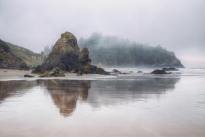 Milky Beachscape at Trinidad, California by Vincent James
