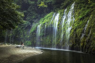 Mindful Mossbrae Waterfall, Mount Shasta California by Vincent James