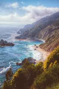 Misty Big Sur Coastline, California by Vincent James