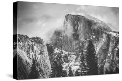 Misty Half Dome at Yosemite, California